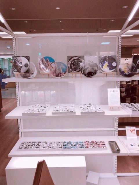 イノウエバッジ店@京阪百貨店守口店での様子です。