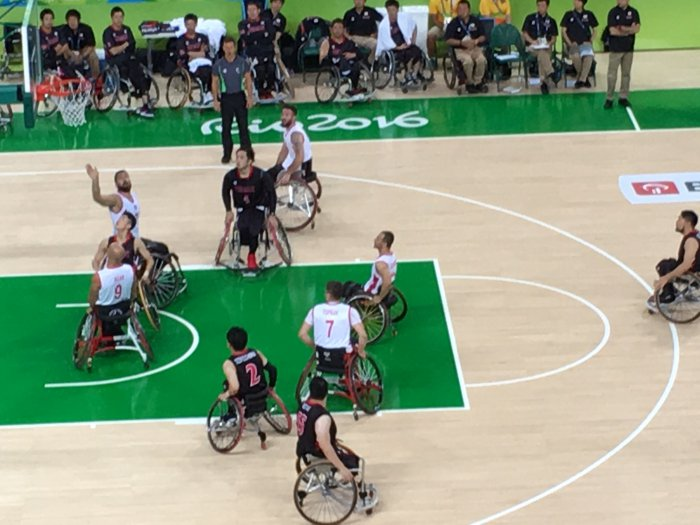 Rio Paralympics Wheelchair Basketball Tournament Log 1: Turkey